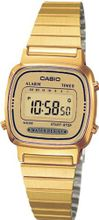 uRetro Casio LA-670WEGA-9EF Ladies Collection Gold