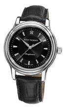 Revue Thommen 12200.2534 Classic Black Leather Strap Automatic