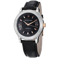 Revue Thommen 12200.2557 Classic Black Leather Strap