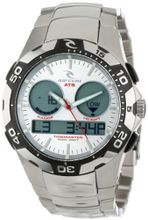 Rip Curl A1029-SIL Shipstern Tidemaster 2 Silver Stainless Steel Tide