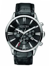 Roamer 508837-41-55-05 Superior Chronograph Black