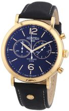 Roamer 935951-49-54-09 Vanguard Chrono Black Leather Strap