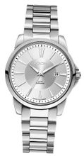 Roamer Ares Quartz with Silver Dial Analogue Display and Silver Stainless Steel Bracelet 730856 41 15 70