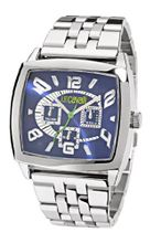 Just Cavalli R7253625035 In Collection Screen, Multifunction, Silver White Dial and Stainless Steel Bracelet