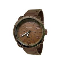 Brown Metal with Brown Chronograph Dial