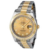 Rolex Datejust II Champagne Dial Automatic Stainless Steel and 18kt Yellow Gold 116333CDO