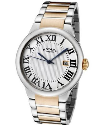 Rotary ROTARY-GB02528-01 Silver Textured Stainless Steel