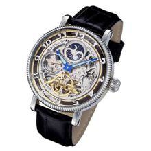 Rougois Dual Time Zone Skeleton Automatic with Day/Night Dial RMAL33