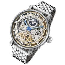 Rougois Dual Time Zone Skeleton Automatic with Day/Night Dial RMAS47