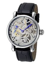 Rougois Hand Wind Decorated Skeleton Movement RMS33S