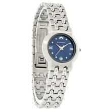 Roven Dino Azza Ladies Blue Dial Stainless Steel Swiss Quartz 6005LSS11