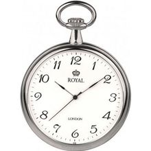 Royal London 90014-01 Quartz Pocket with Chain