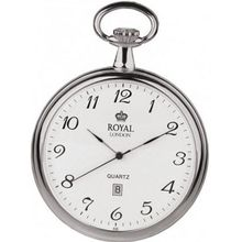 Royal London 90015-01 Quartz Pocket with Chain