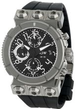 RSW 4125.MS.R1.H12.00 Outland Automatic Round Black Dial Chronograph