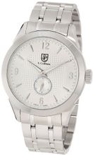 S. Coifman SC0117 Silver Textured Dial Stainless Steel