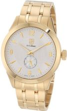 S. Coifman SC0118 Silver Textured Dial 18K Gold Ion-Plated Stainless Steel