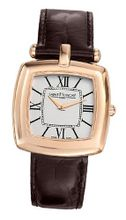 Saint Honore 721060 8AR Audacy Paris Rose Gold PVD Stainless Steel Genuine Leather