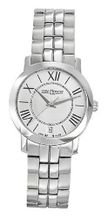 Saint Honore 751120 1AR Trocadero Paris Brushed and Polished Stainless Steel Date