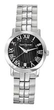 Saint Honore 751120 1NFRN Trocadero Paris Brushed and Polished Stainless Steel Date
