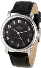 Sartego SEN551B Toledo Analog Black Face Leather Band