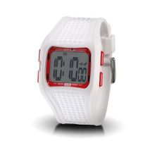 Sector 'Expander' Digital Quartz with White Resin Strap - R3251172015