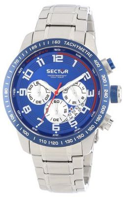Sector R3273975001 Racing Analog Stainless Steel