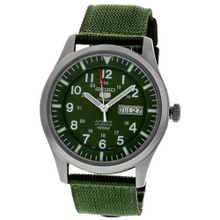 Seiko 5 Sport Automatic Khaki Green Canvas SNZG09