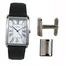 Sekonda 3025G Analogue With Cufflinks