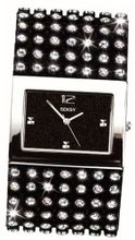 Seksy 4753 Ladies Black Crystal