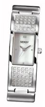 Seksy Model 4795.37 Ladies Analogue made with Swarovski Crystal Bracelet