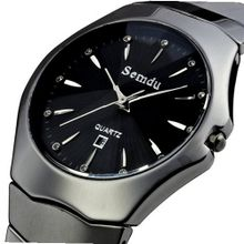 Semdu SD6005G Black Ceramic Dial
