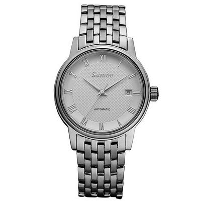 Semdu SD7004G Stainless Steel White Dial Automatic