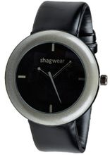 Trendy Large Dial Buckle Strap by Shagwear Gray & Black