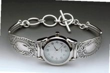 Silver Spoon Sterling Silver Ladies MOP Round Unique Lady Grace
