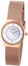 Skagen 233XSRR White Label Analog Display Analog Quartz Rose Gold