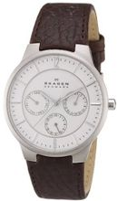 Skagen 331XLSL1 Steel Brown Leather Multi-Function