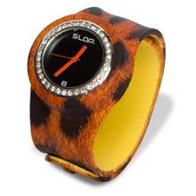 Slap Jr Natural Leopard Wild Bling