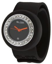 Slap Junior Kids Raven Black Bling
