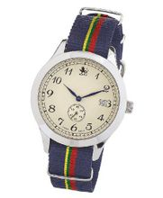 Smart Turnout Heritage with nylon strap in the colours of the Royal Marines RM/56/W