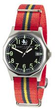Smart Turnout Military with nylon strap in the colours of the Royal Artillery RA/55/W