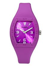 Smarty Big Ladies Magenta Silicon Strap SW101L