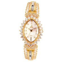 Smays Luxury Diamond Fashion Female Wrist A1200 -Gold