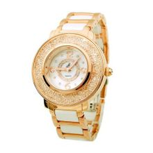 Smays Rhinestone Retro Ceramics Female A1069 - Gold