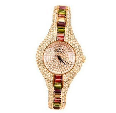 Smays Swarovski Crystal  A987 -Gold