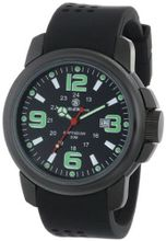Smith & Wesson SWW-1100 Amphibian Commando Black Glowing Dial Rubber Band