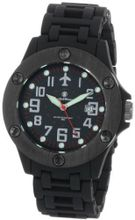 Smith & Wesson SWW-2166 Sentry Black Glowing Dial Plastic Band