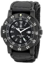 Smith & Wesson SWW-357-N 357 Tactical Swiss Tritium H3 Black Dial Nylon Band