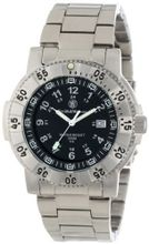 Smith & Wesson SWW-357-SS Aviator Tritium H3 Stainless Steel Strap