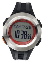 Solus Unisex Digital with LCD Dial Digital Display and Black Plastic or PU Strap SL-101-002