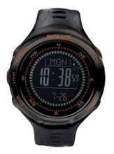 Solus Unisex Digital with LCD Dial Digital Display and Black Plastic or PU Strap SL-110-004